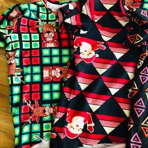 LuLaRoe Girls Christmas 🎄 Gracie's size 2